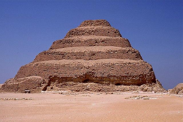 King Djoser's Step Pyramid.