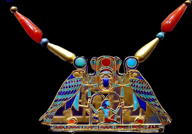 Pendant found in the tomb of Princess Sit-Hathor Yunet, the daughter of Pharaoh Senusret II.