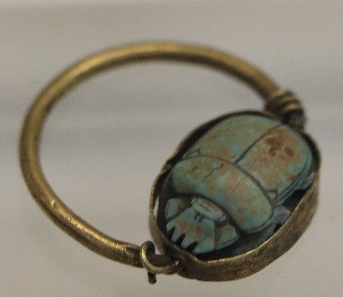 Scarab ring of Tuthmosis III.