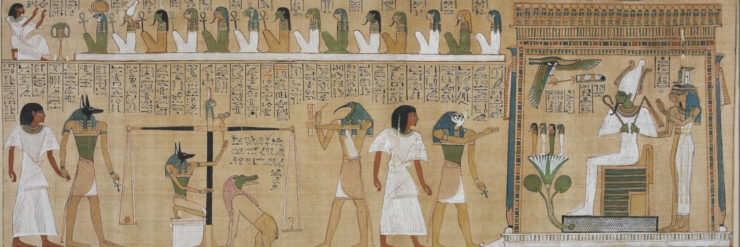 The Book of the Dead of Hunefer, sheet 3.