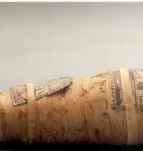 The (Mòmia Nesi) mummy from Twentieth Dynasty of Egypt.