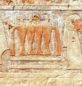 Amun Court in Hatshepsut Temple.