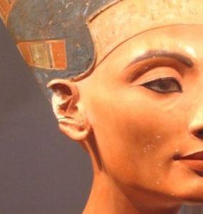 Nefertiti bust.