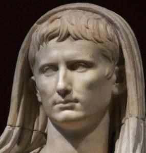 Roman Emperor Augustus.