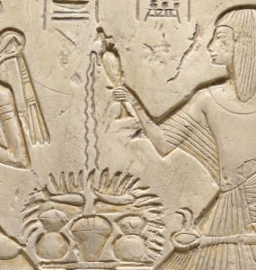 Seti I and his son, the future Ramesses the Great.