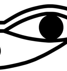 The Eye of Horus or Ra.