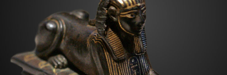 Sculpture of Thutmose III as Sphinx