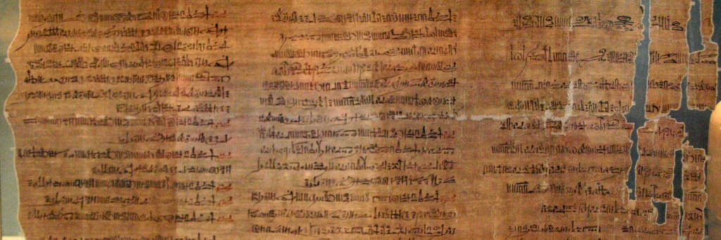 The Abbott Papyrus, which is a record of an official inspection of royal tombs in the Theban necropolis