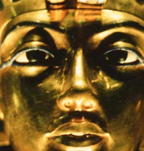 The Mask of Tutankhamun.