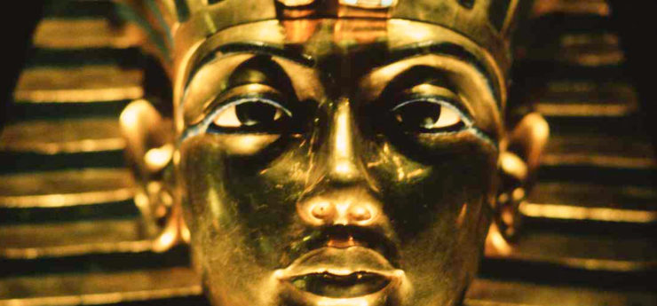 The Mask of Tutankhamun.