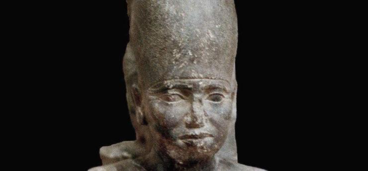 Slate statue of Neferefre.