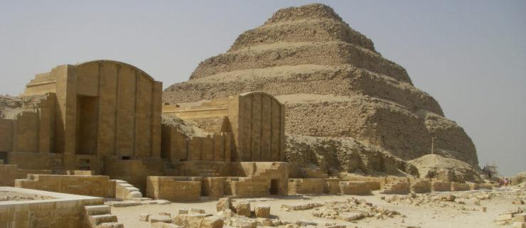 Pyramids at Saqqara