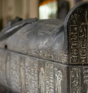 A sarcophagus believed to be that of Ramses I