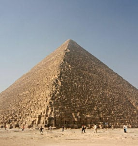 The Great Pyramid of Giza or Kheops-Pyramid