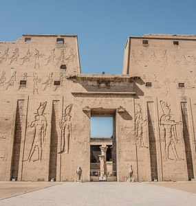 The Temple of Edfu.