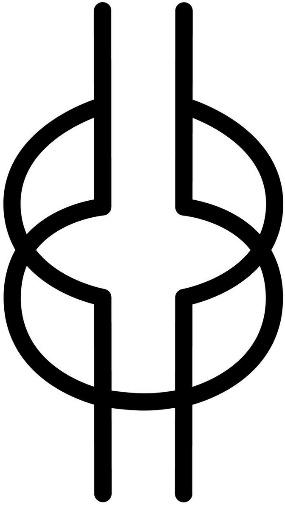 Akan wisdom symbol.