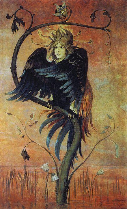 Slavic Siren - The prophetic bird.