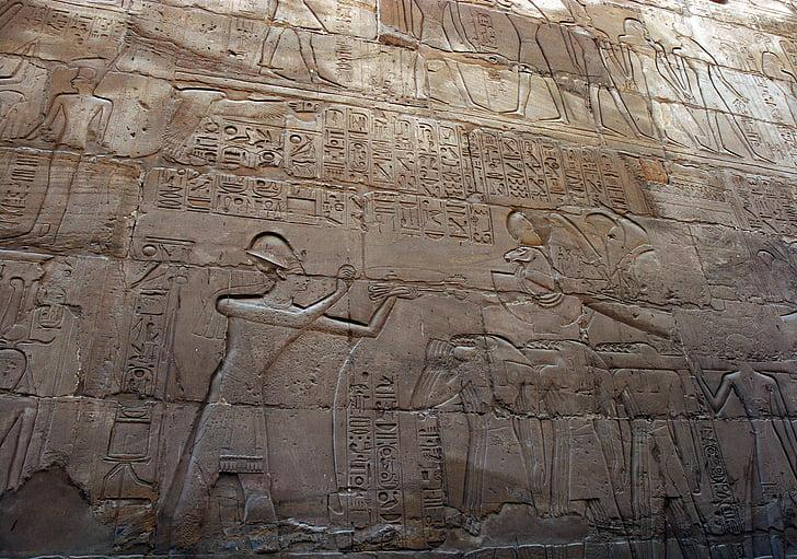 Society of Ancient Egypt / Egyptian relief.