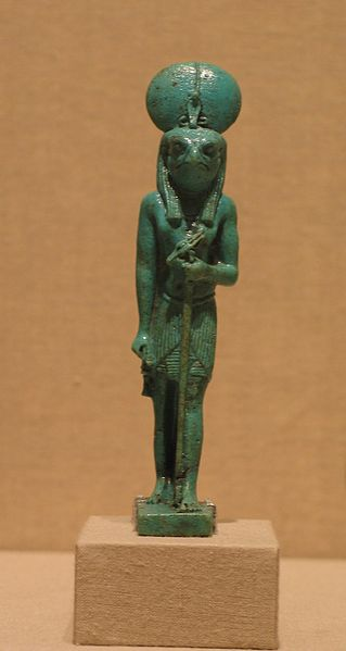 Figure of Re-Horakhty.