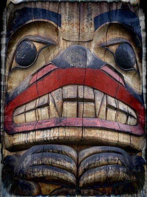 Indigenous art, Bear totem - The Bear is a spirit of strength.