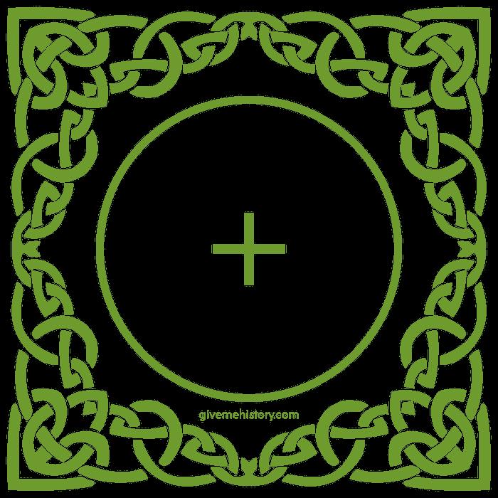 Celtic Ailm Symbol.