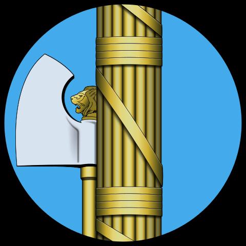 Etruscan fasces.