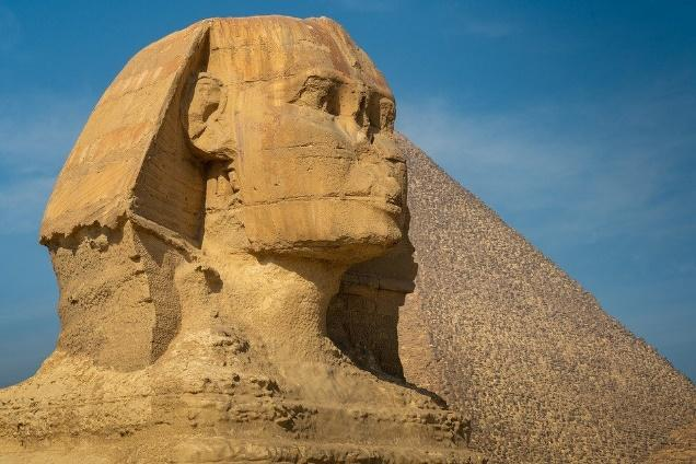 Sphinx of Giza - Symbol of kings.