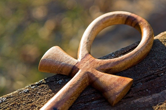 The Egyptian Ankh, also called the Key of Life.