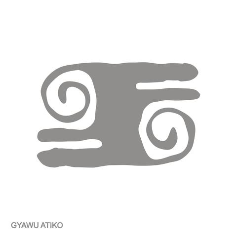 Gyawu Atiko/ Hairstyle of an Asante war captain / Adinkra courage symbol.