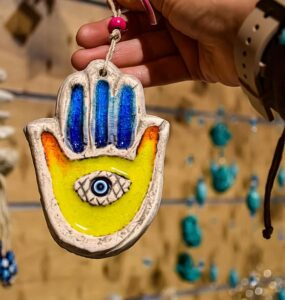 Hamsa pendant Symbol of Protection.