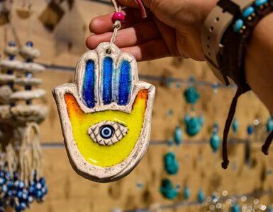 Hamsa pendant Symbol of Protection.