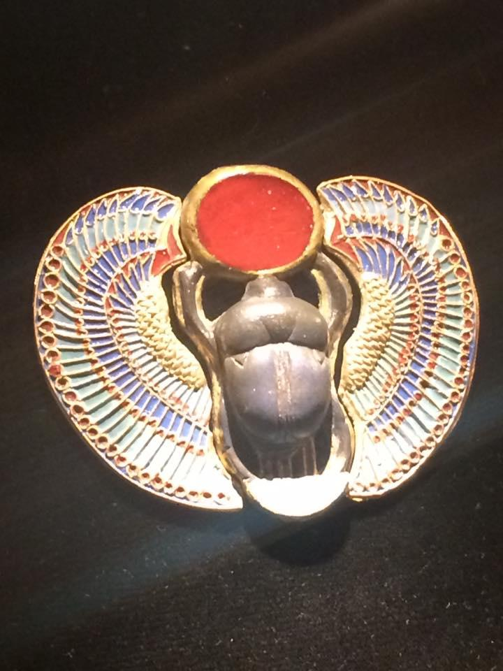 Scarab ornament / Egyptian symbol of protection.