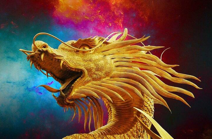 The dragon is a symbol of imperial authority, power, and glory.