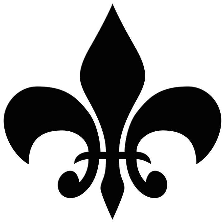 Fleur de lis is a symbol in the form of a stylized lily.