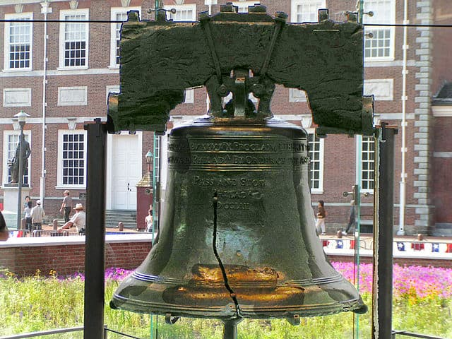 Symbol of American liberty / Liberty Bell.