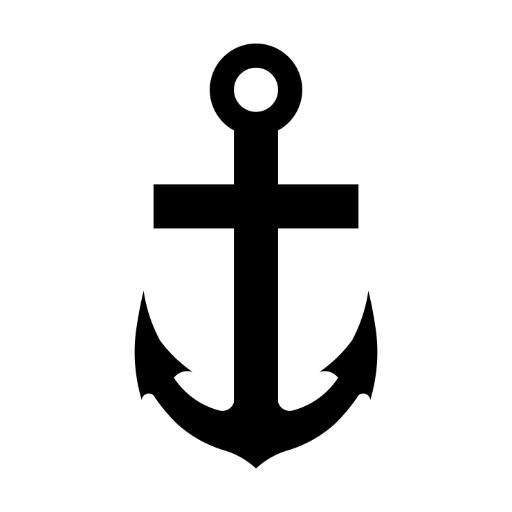 Anchor cross / Christian symbol of hope.