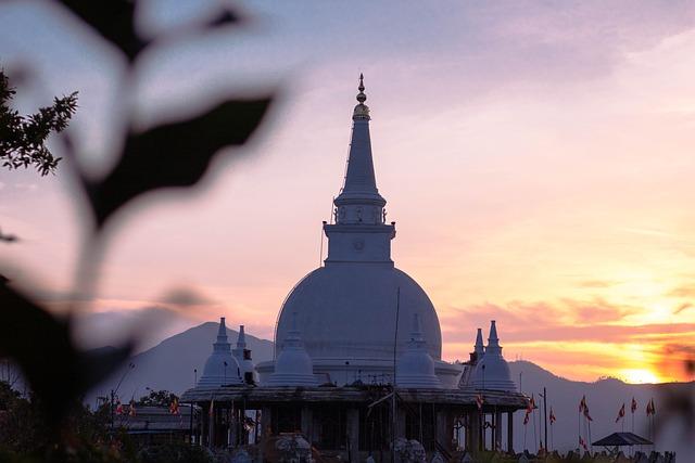Stupa / Buddhist temple.