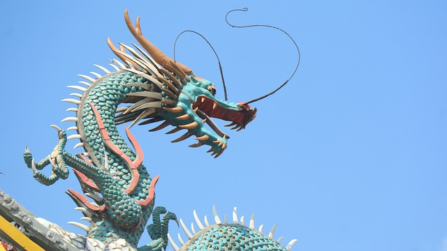 East Asian symbol of water / Chinese dragon.