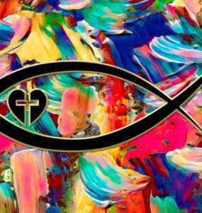 Ichthus symbol art