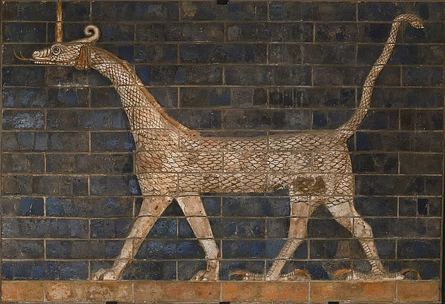 Marduk's servant / Ishtar gate animal .