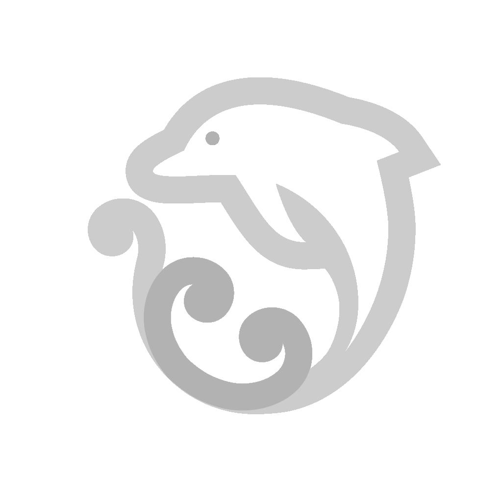 Maori friendship symbol / Koru Aihe / Curled dolphin symbol.