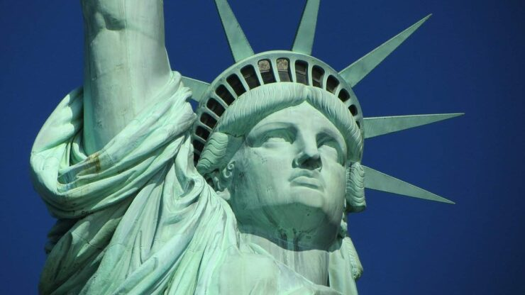 The Statue of Liberty is one of the most widely recognized icons of the United States and a symbol of freedom, human rights, and democracy.
