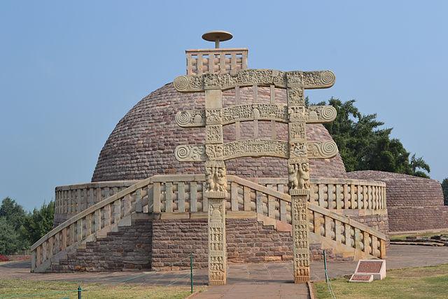 The Stupa.