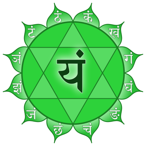 Anahata chakra.
