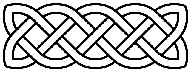 Celtic love knot.