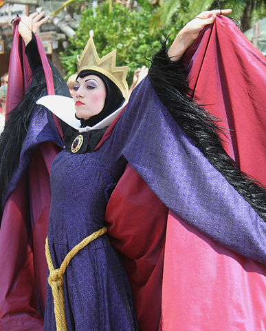 Evil Queen from Snow White.